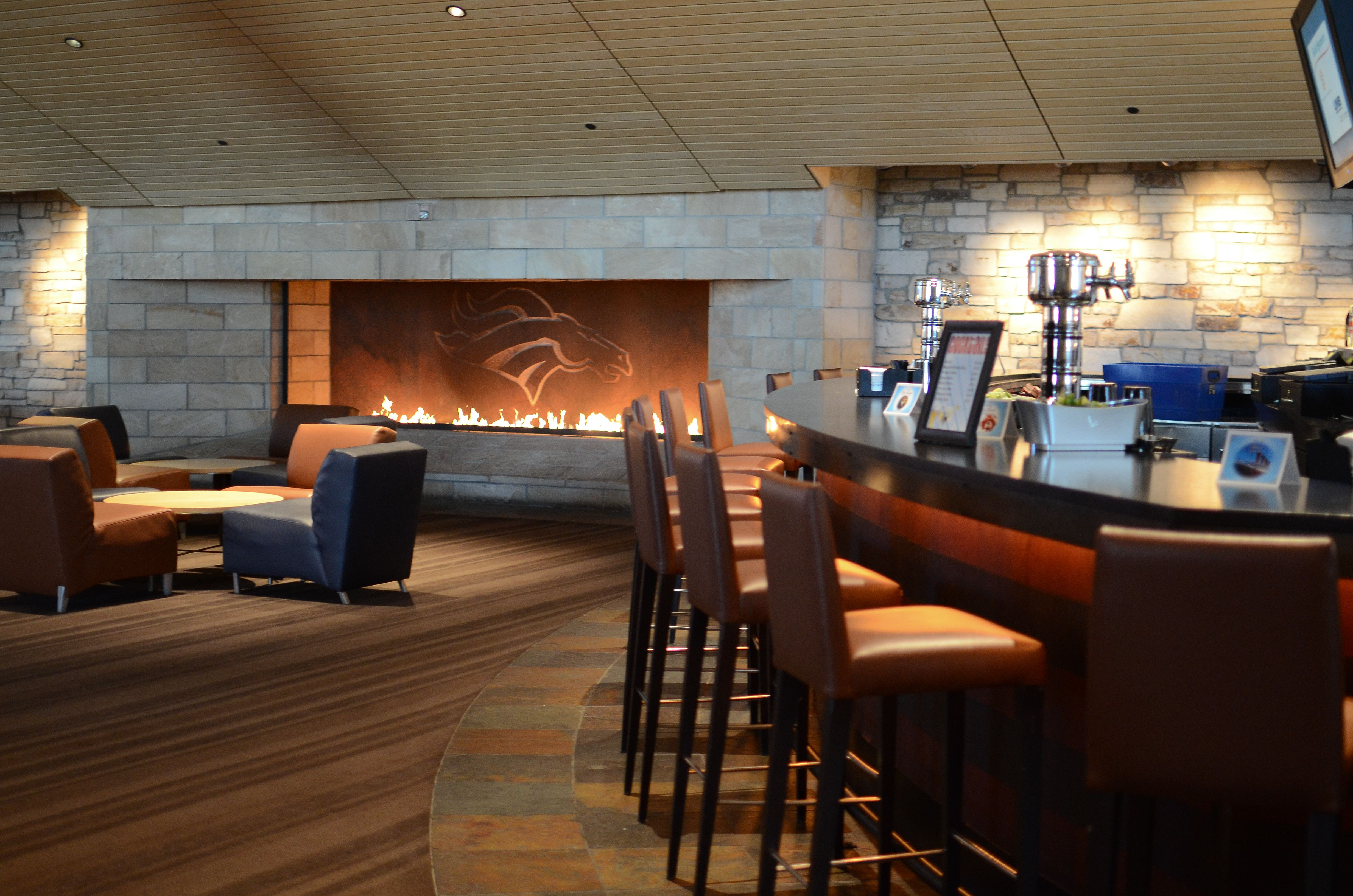 The bar on East Club Level / Sports Authority Field at Mile High ...