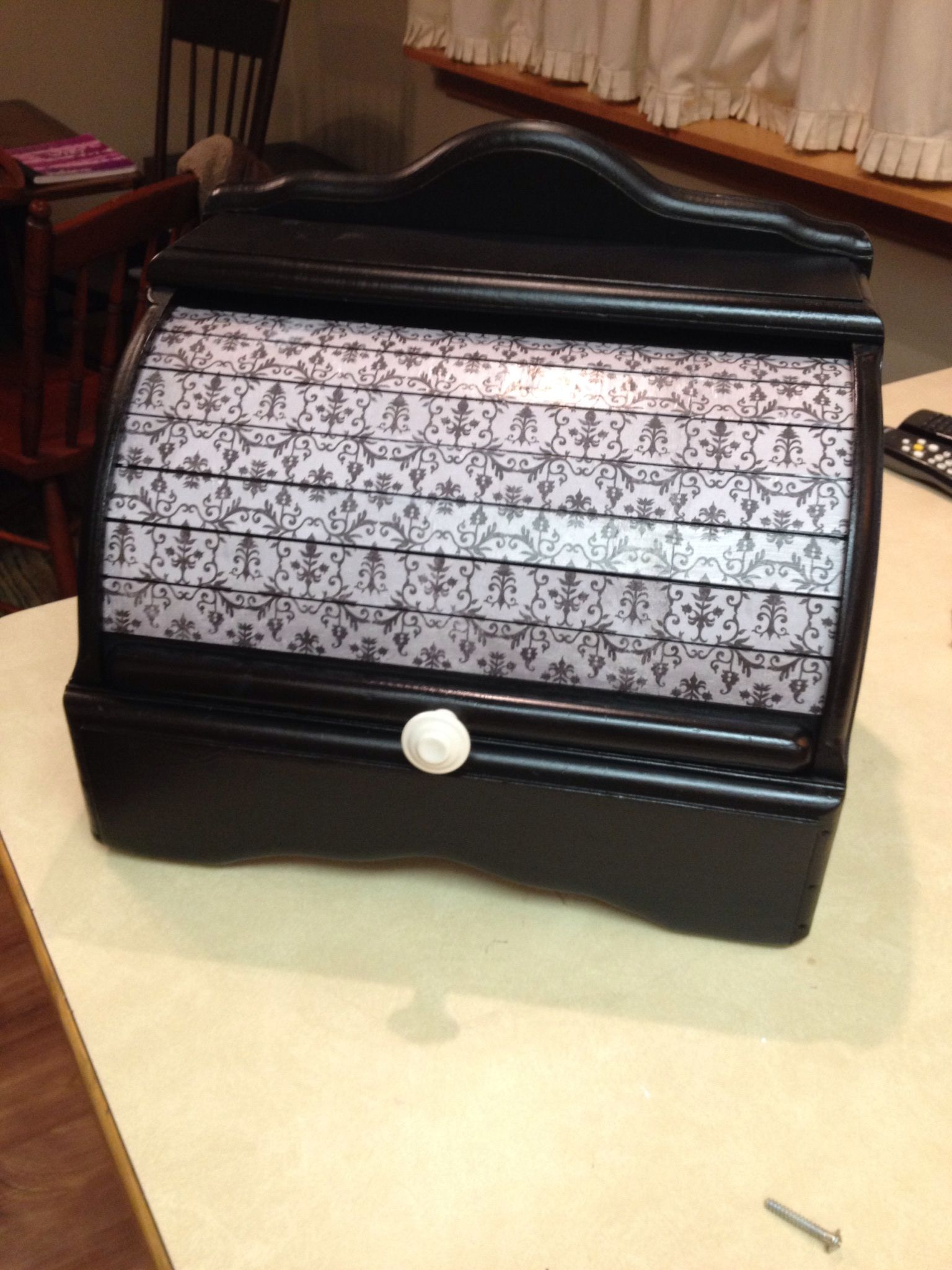 Bread box from Goodwill after