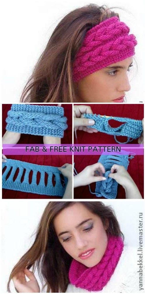 Knit Faux Braid Headband Free Pattern Faux Braids Free Pattern