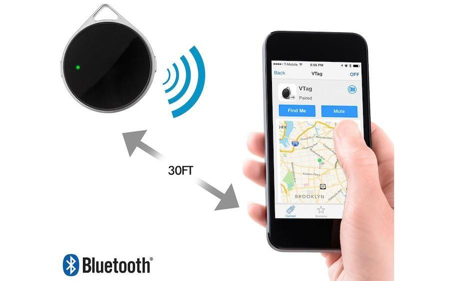 VTag Bluetooth 4.0 Wireless Locator w/ Proximity Sensor