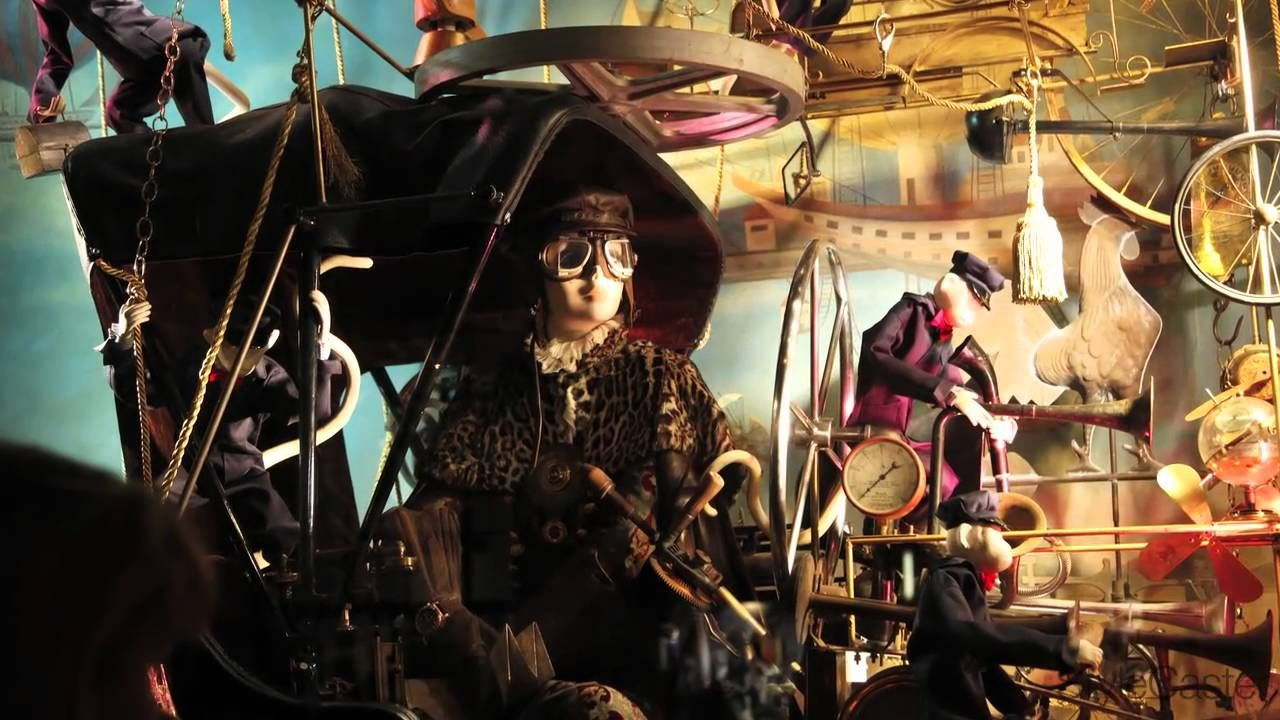 Bergdorf Goodman Holiday Windows 2010: Behind the Scenes with David Hoey