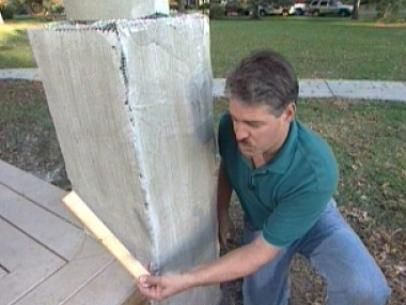 How To Build Stone Pillars