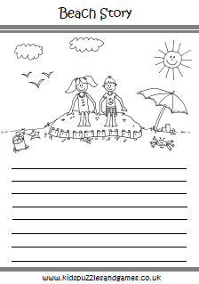Story Worksheets For Kids Teaching Escritura
