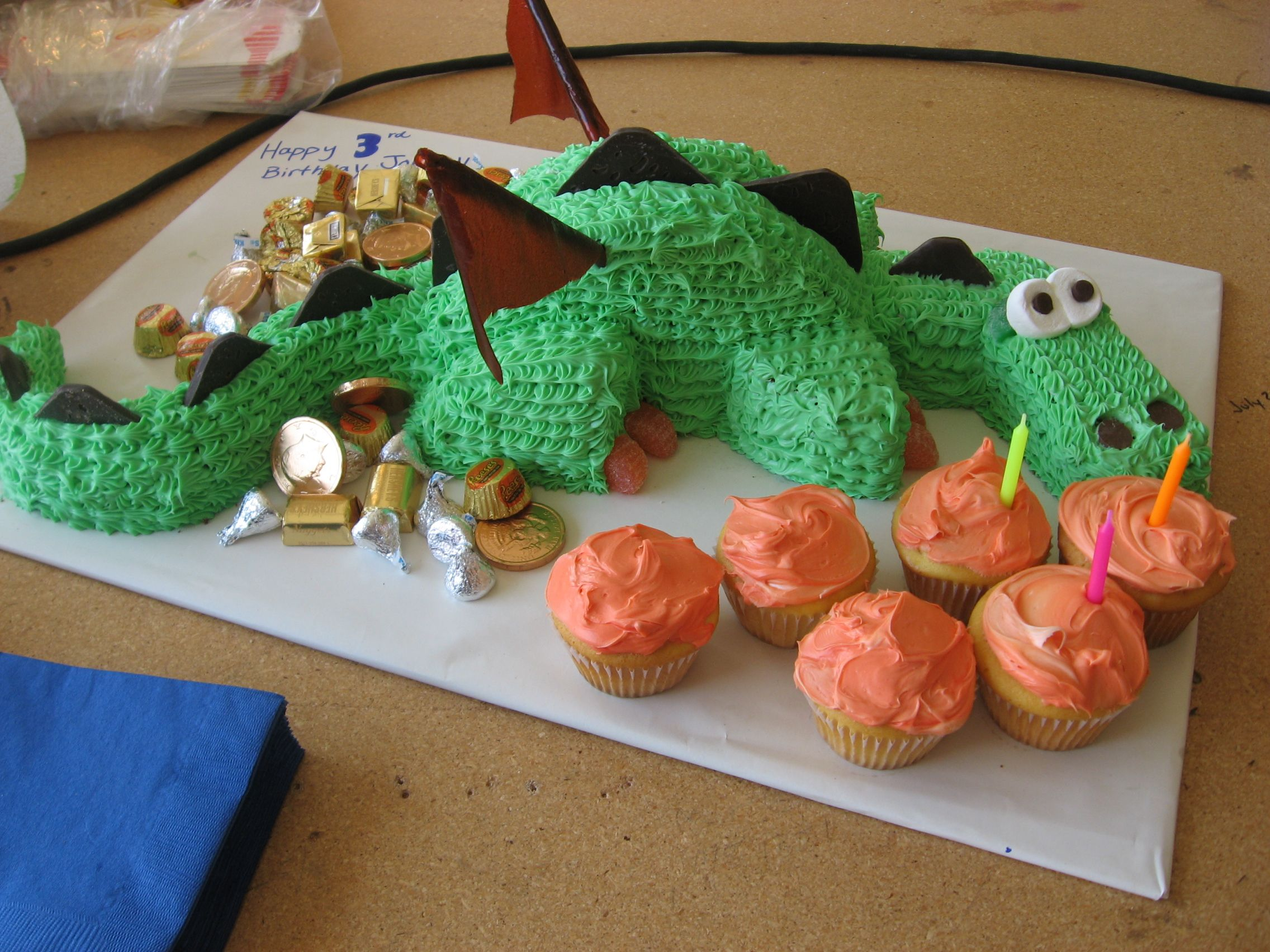 Dragon Cake Recipe From Family Fun Magazine
