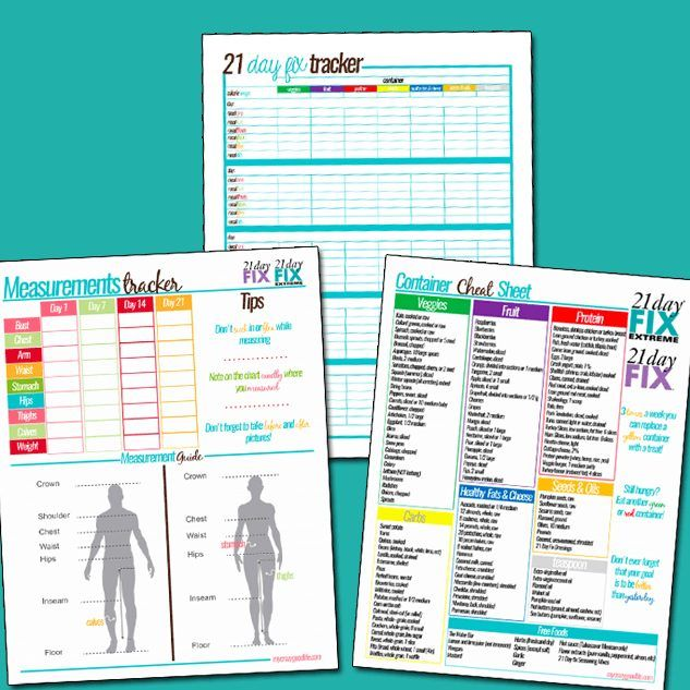These 21 Day Fix Meal Plans are super easy to pull together–all of ...