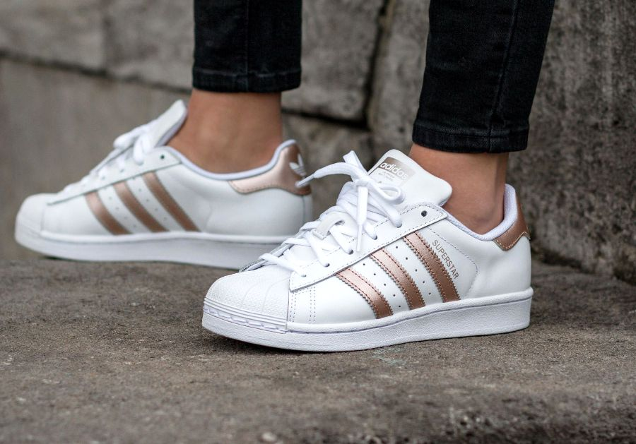 Chaussures Adidas blanches Fashion homme JAeFVo