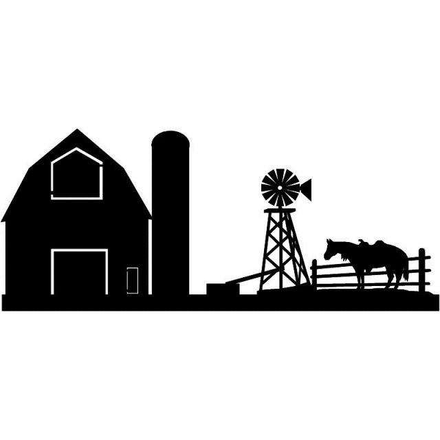 pin by carol ross on silhouettes farm animal silhouettes