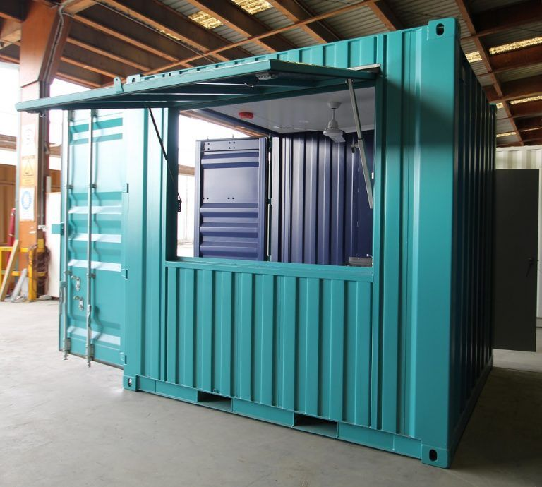 10ft Mini Pop Up Shop Container Shop Building A Container Home Shipping Container