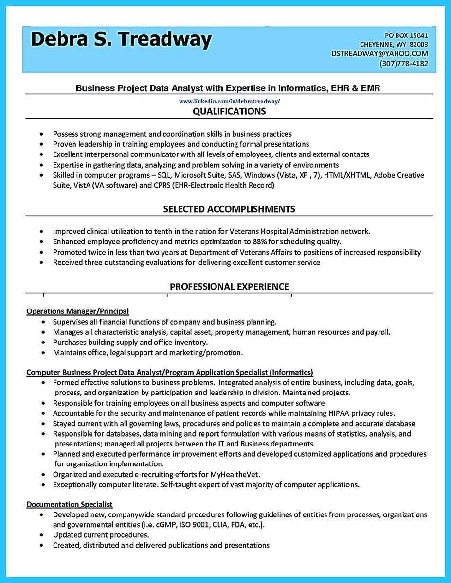 Data Analyst Resume Sample Nice High Quality Data Analyst