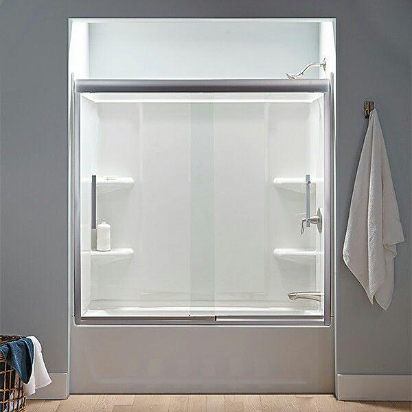 Tub enclosure | bathroom | Pinterest | Tub enclosures, Tubs and ...