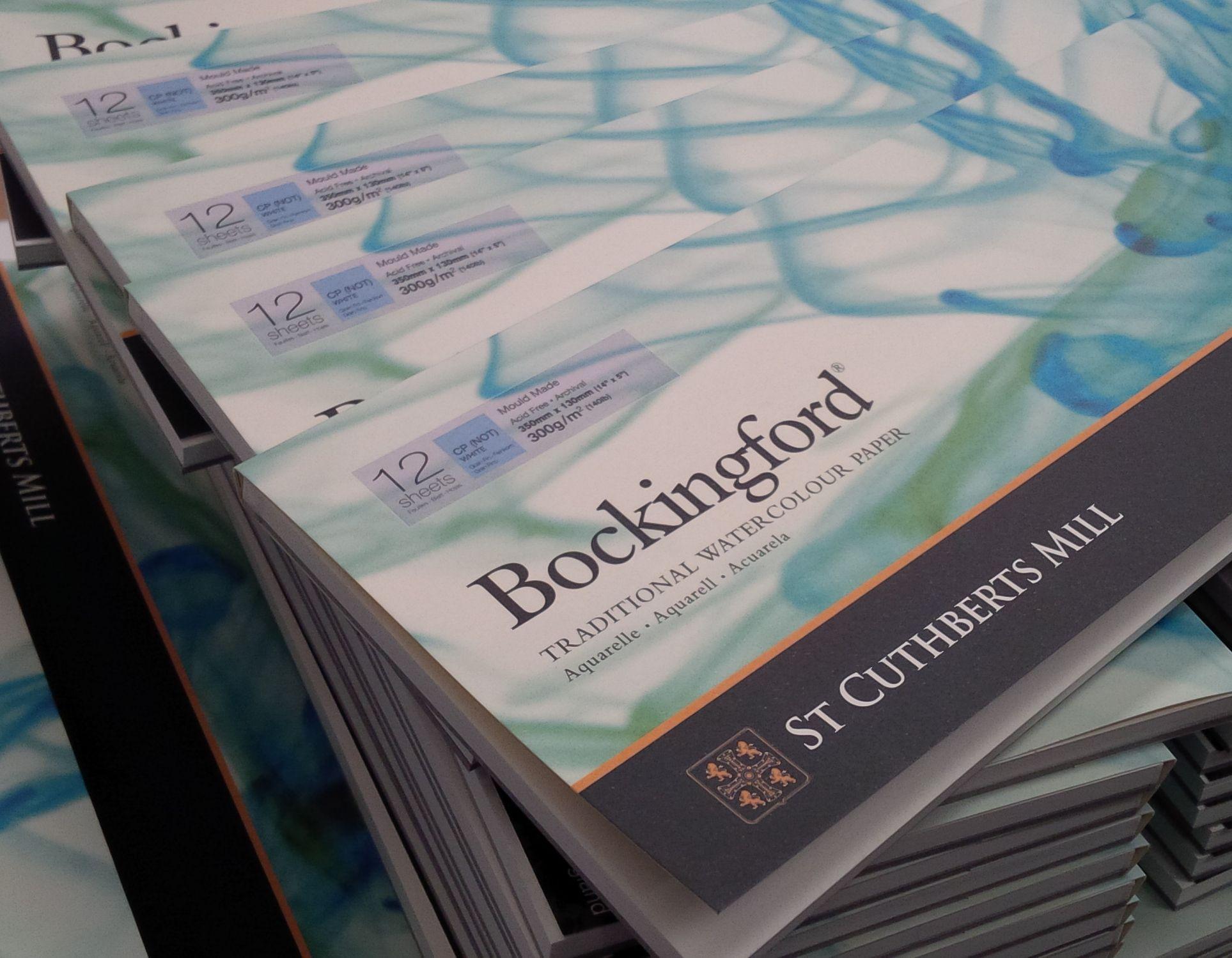 Bockingford Paper Long Format Cp Not 5 X 14 Panoramic Pad
