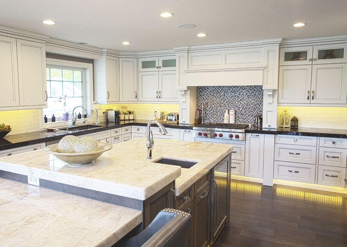 Alair Homes Edmonton Rebuild The Kitchen Features Thick
