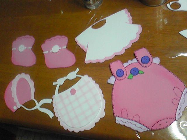 15 ideas de recuerdos para baby shower de goma eva - Cosas de goma eva ...
