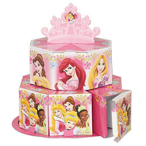 Disney Princess Royal Favor Box Centerpiece Set