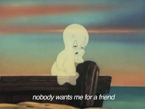 Pin By Pocket Full On Capler With Images Casper The Friendly Ghost Friendly Ghost Feeling Lonely