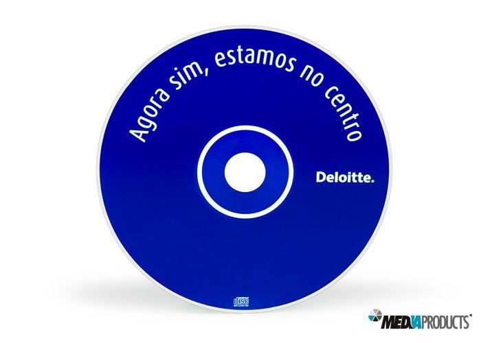 CD fabricado para a DELOITTE.