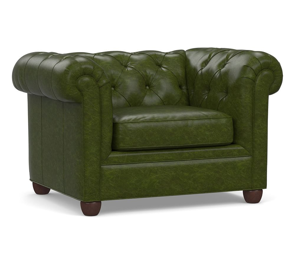 b6ad8f02039 Chesterfield Leather Grand Armchair 50