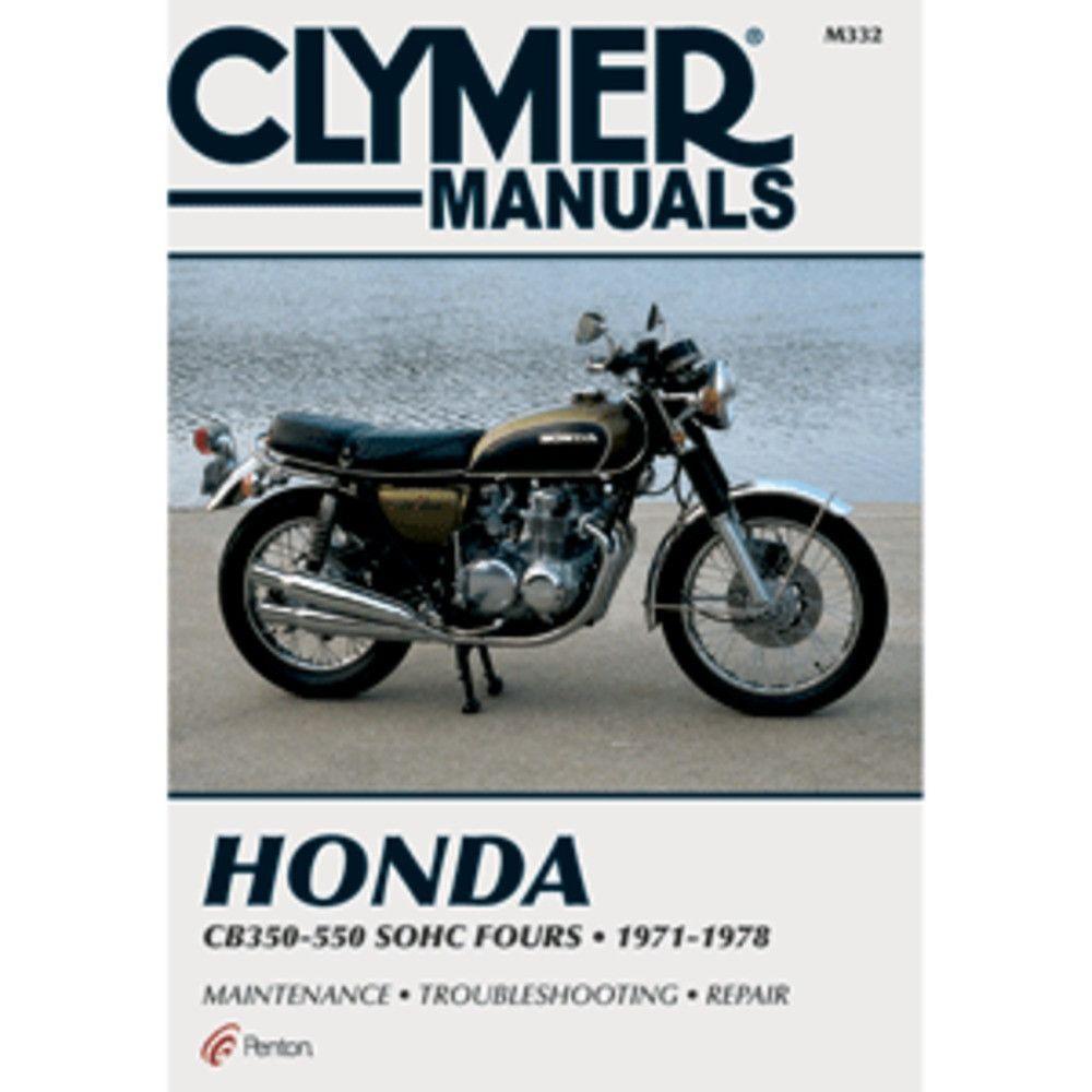 Clymer Honda CB350-550cc Fours (1971-1978)