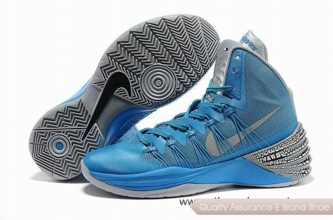 16dc84f0490d Nike Hyperdunk 2013 XDR Blue Grey Basketball Shoes.Hot Sold nba basketball  shoes sale online