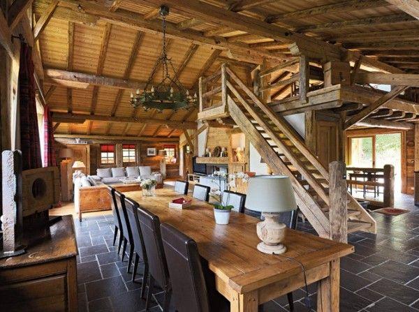 Escaleras rusticas buenisimo pinterest rusticas for Escaleras interiores casas rusticas