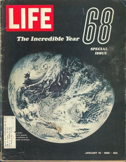 Jan 10 1969 The Incredible Year 68 Life Magazine Covers Life Magazine Life Cover