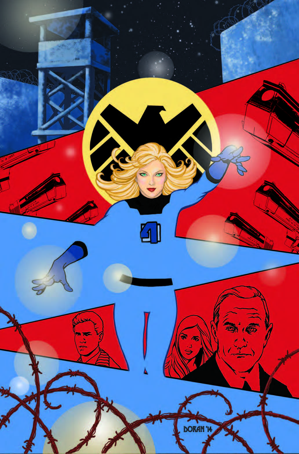 Sue Richards INVISIBLE WOMAN by Colleen Doran