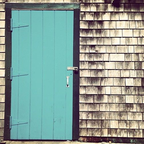 Turquoise Door, Cape Cod, Beautiful Homes
