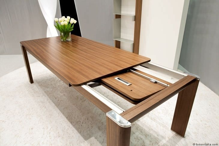 Archiexpo Com Expandable Dining Table Extendable Dining Table Furniture