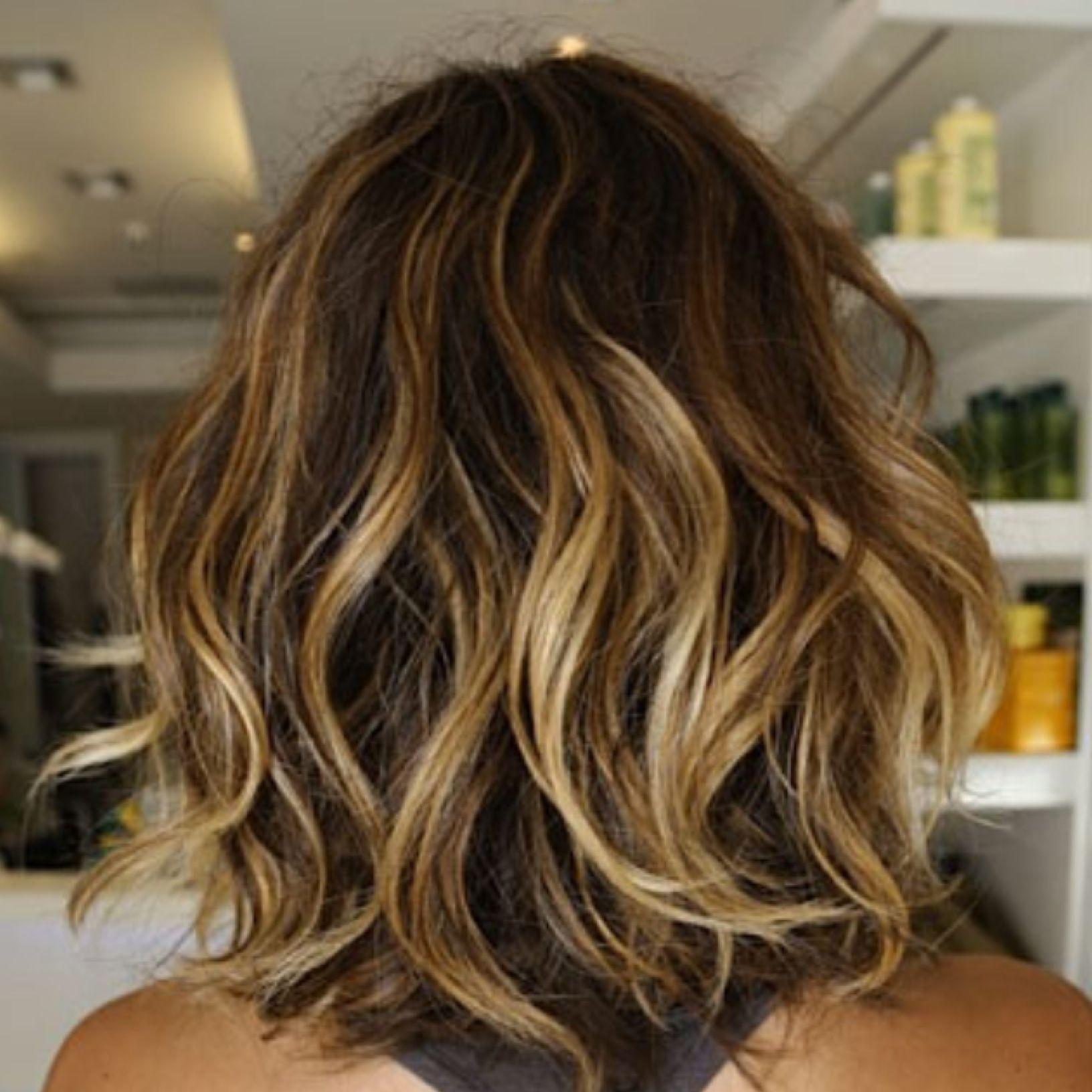 Tousled Bob #HairInspiration #BeachHair