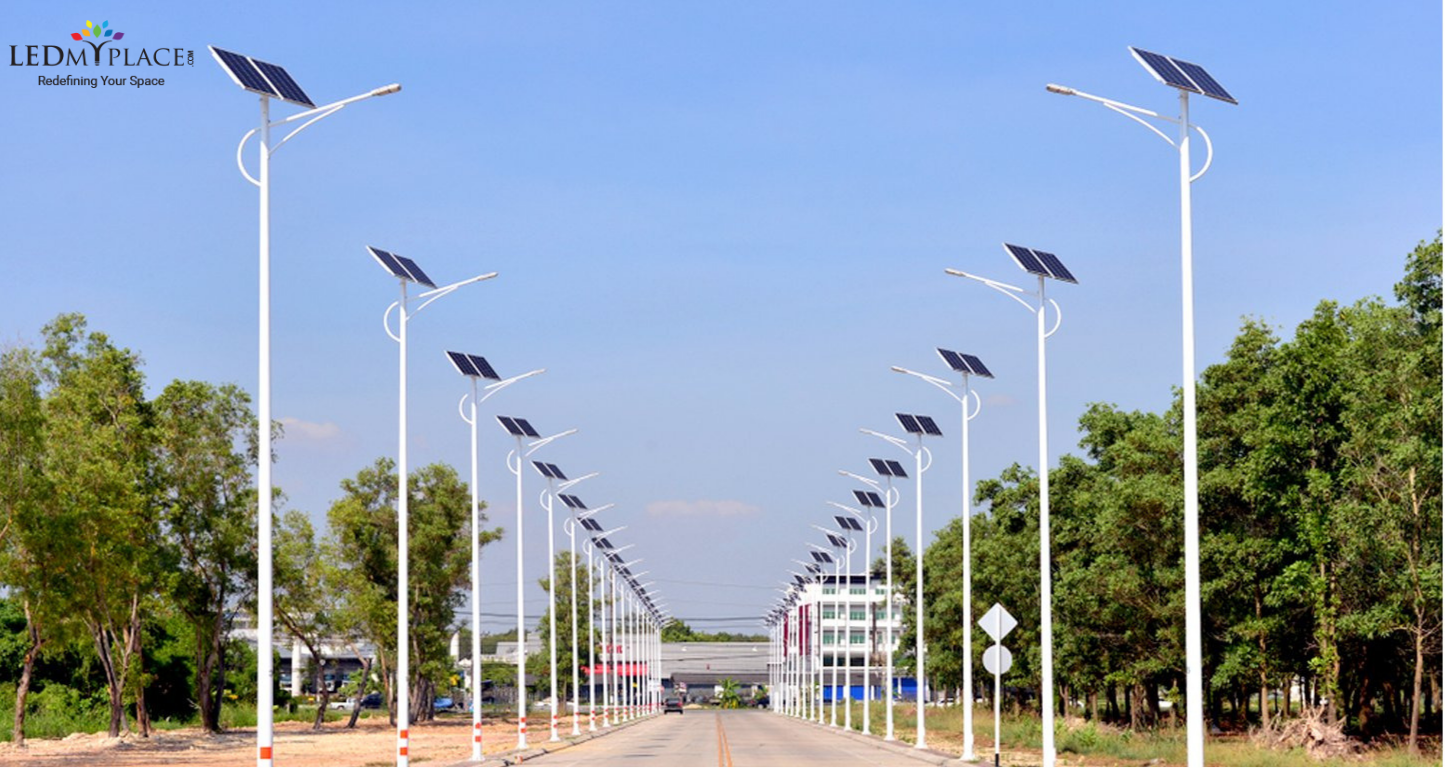 Led Solar Street Lights For Commercial Applications Solar Street Light Street Light Solar