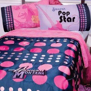 hannah montana bedroom on Hannah Montana Single Bed Full Bedroom Set ...