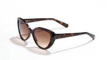 Velvet Eyewear Joie Dark Tortoise Frame / Brown Fade Lens Cat-Eye Sunglasses Velvet. $69.45