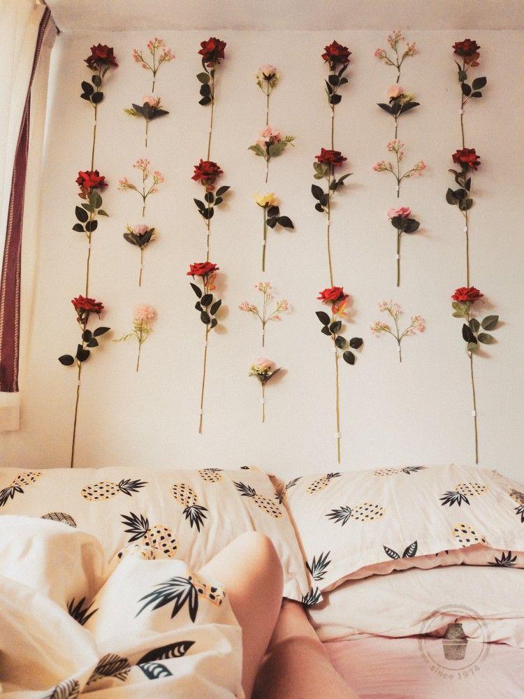 Flower Wall Bedroom Heaven Flower Wall Decor Diy Flower Wall Flower Wall Flower wall decor for bedroom