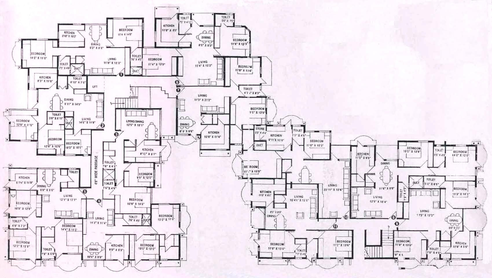 Awesome Mansion House Plans Part 7 Modern