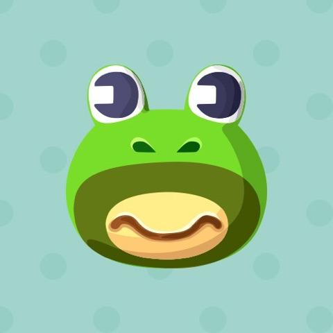 prince どうぶつの森 カエル キャラクター