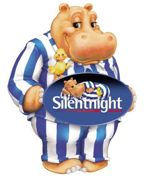 Hippo Logo Of The Silentnight Mattress Company