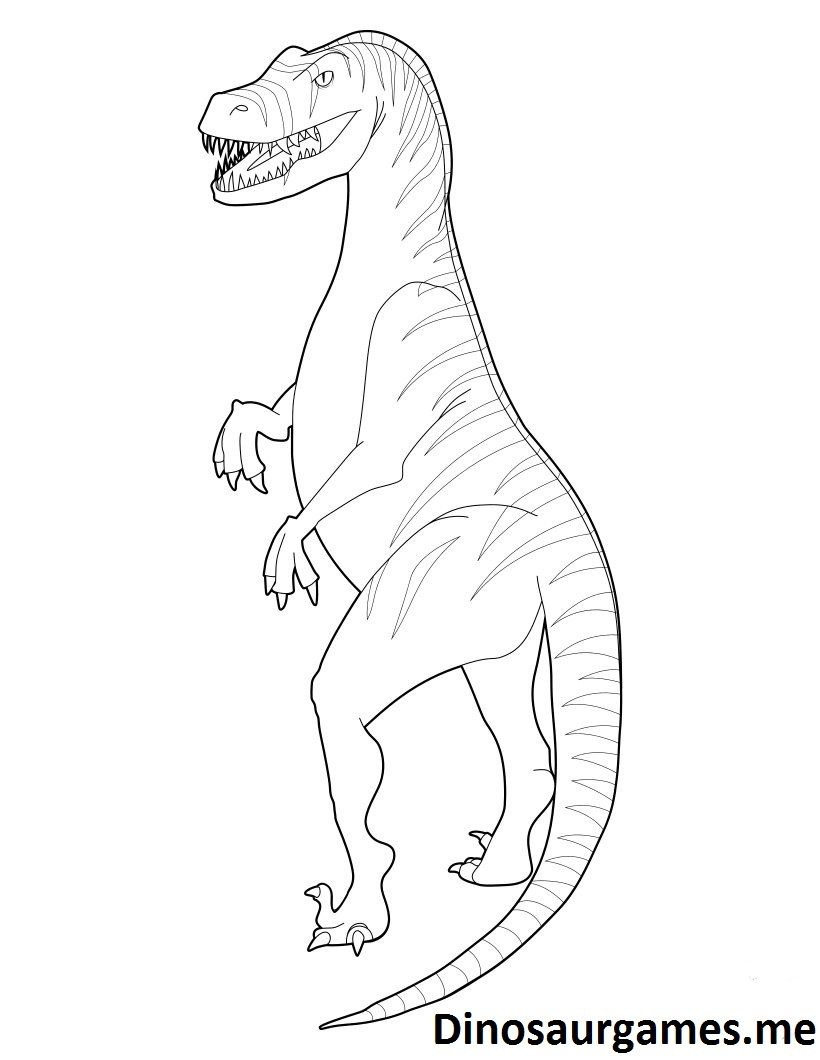 Baryonyx Coloring Page Colouring Pages Dinosaur Jurassic World Velociraptor 2 Nativity 7 Turtle Clothing Pokemon Indigo League Rain Drop 5 Small Map Country