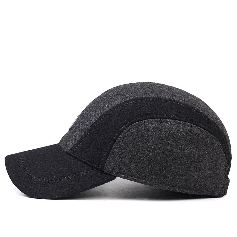 fa2a896e9 Hats & Caps, Men's Hats & Caps, Baseball Caps, Men's Winter Warm Soft Lined  Dad Wool Cap Adjustable Baseball Hats - Grey - CJ12OCEWI58 #caps #men #hats  ...