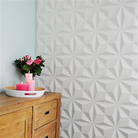 Embossed Tiles Wall Decor Set De 12 Paneles Con Relieve Para Pared Cullinans  3D Wall Decor