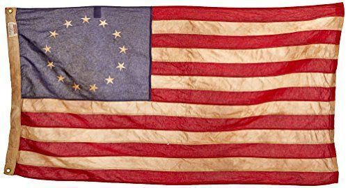 Valley Forge US American Flag 3/'x5/' Poly//Cotton 100/% Made in the USA