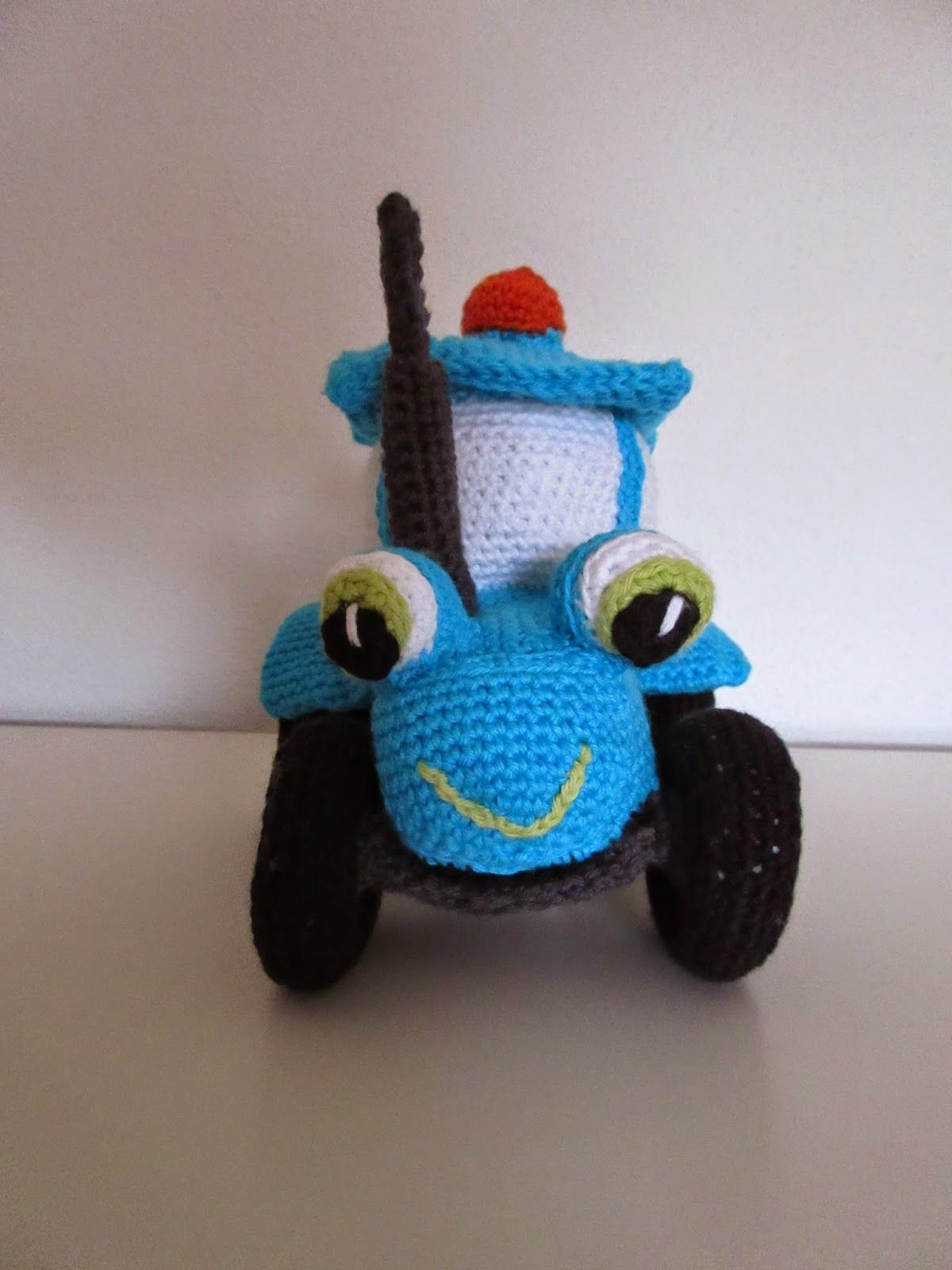 By Dalhoff: Hæklet traktor