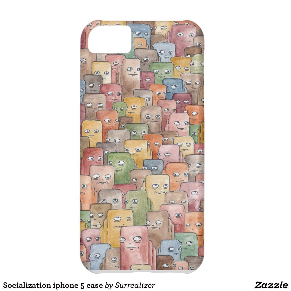 Socialization iphone 5 case