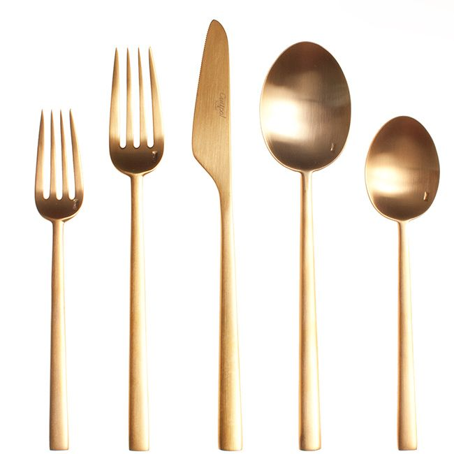 Rondo Gold Cutlery | Horne
