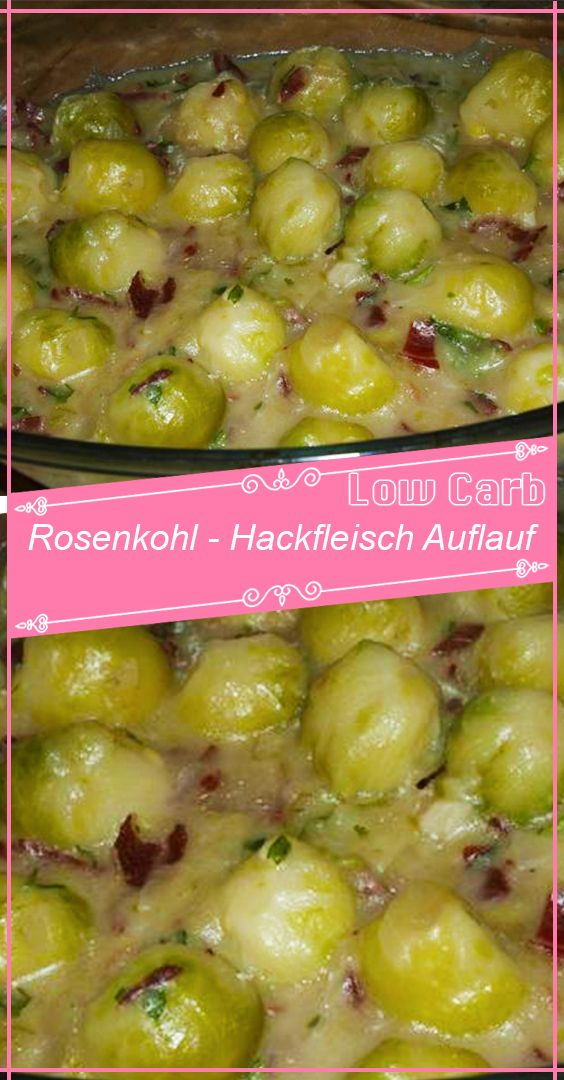 Photo of Brussels sprouts – minced meat casserole