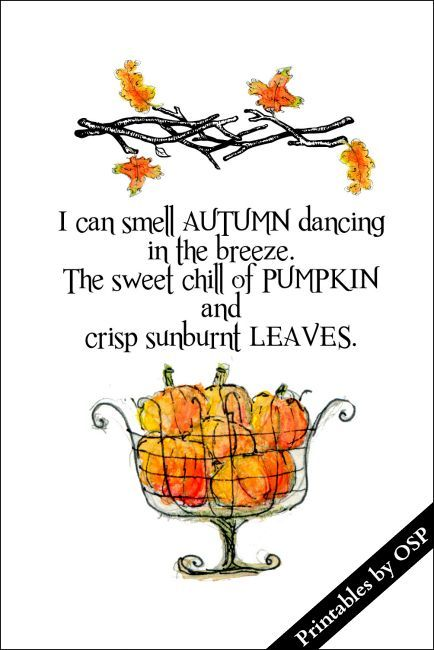 30 Free Fall Autumn Original Printables Country Dream Home