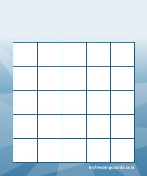 Myfreebingocards Com Free Printable And Virtual 5x5 Bingo Templates Bingo Template Bingo Cards Bingo Card Generator