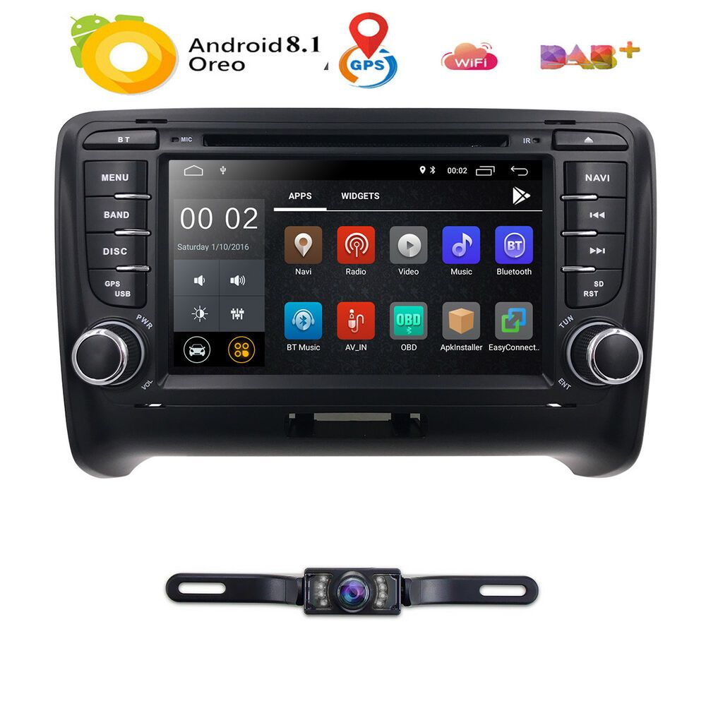 Ad Ebay Android 8 1 Quad Core Car Stereo Dvd Player Gps