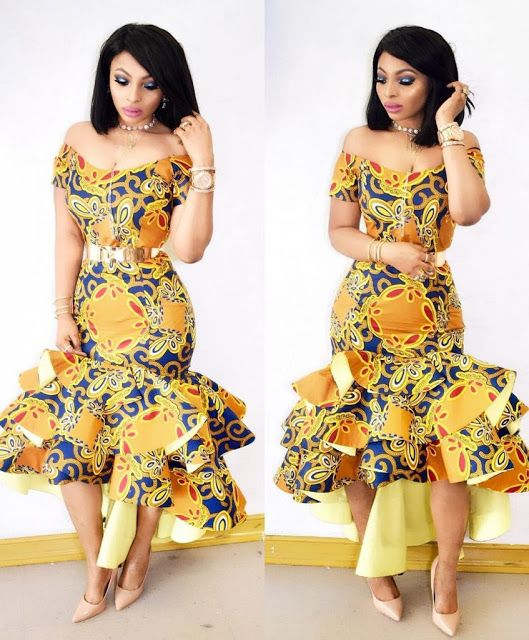 65c5ec26d2d Lovely Ankara Gown Design for Ladies - DeZango Fashion Zone