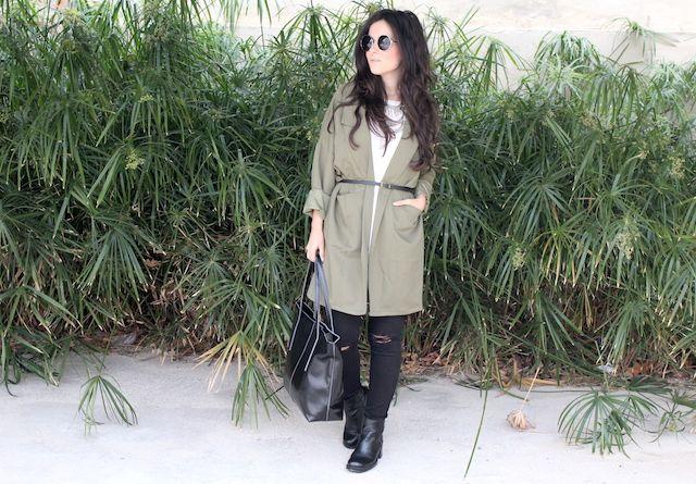 chaqueta oversize de Romwe #kissmylook