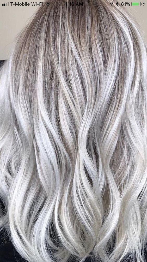 15 Aschblonde Haarfarbe Ideen zum Vorführen: Fabelhafte blonde Haarfarbe -  #aschblonde #blon... #ashblondebalayage